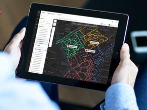 """Microsoft – """"Intelligente gadelamper reducerer både energi, omkostninger og CO2-aftryk."""""""