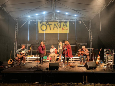 Festival ukončilo vystoupení kapely Shivers.