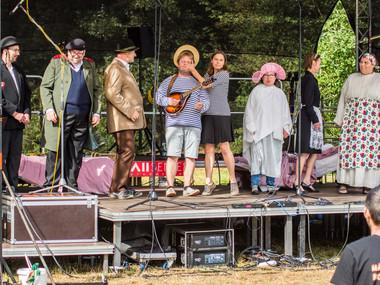 Divadelní představení 'Splněný sen' komunitního domu Villa Vallila
