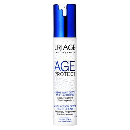 URIAGE Age Protect - Crema Notte Detox Multiazione- 40ml