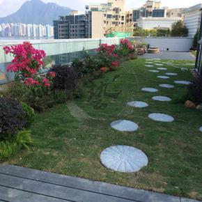 天賦海灣-園藝空中花園工程