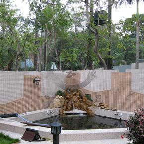 錦繡花園-石山魚池