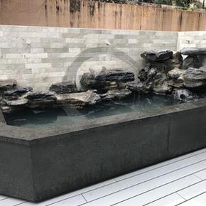 九龍塘衡州道-流水石山魚池