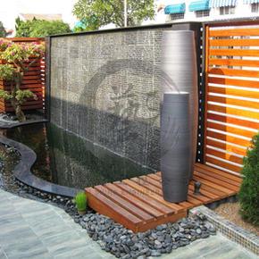 錦繡花園-流水魚池