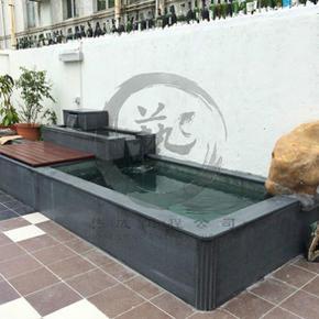 黃屋村-流水魚池