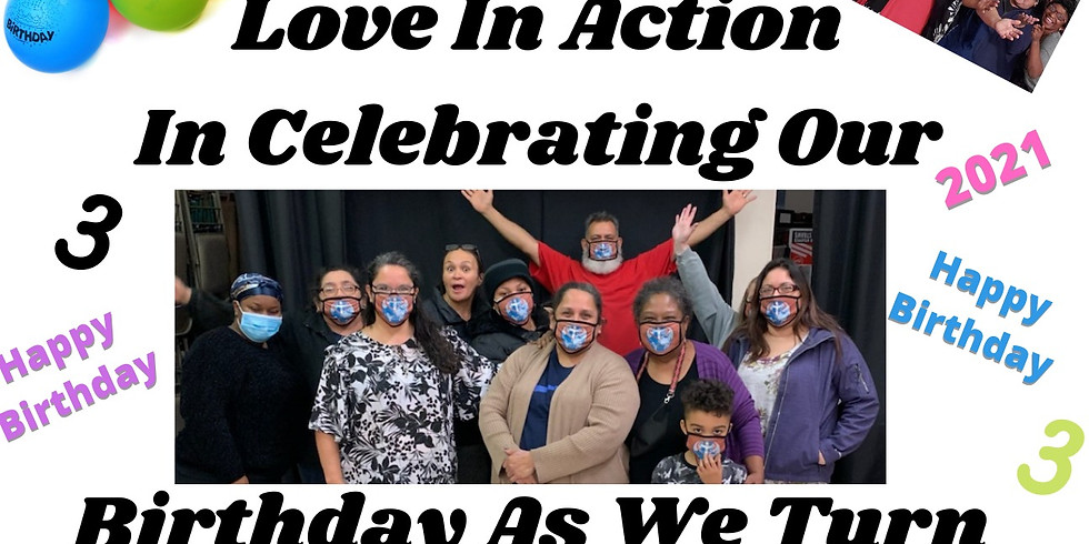 Join Love In Action As We Turn 3! (Open House)
