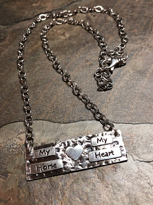 My Horse My Heart Necklace