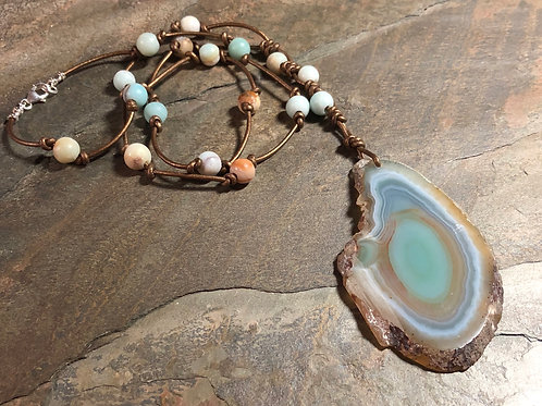 Allure of Amazonite Necklace