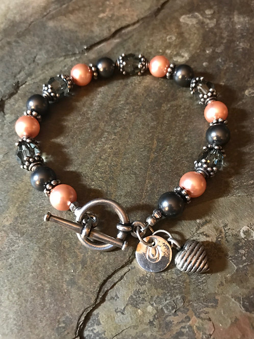 Swarovski Crystal & Pearl Bracelet