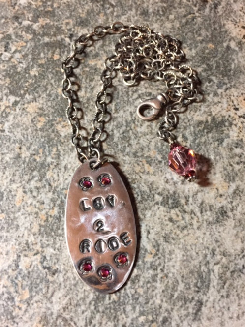 Luv 2 Ride Necklace