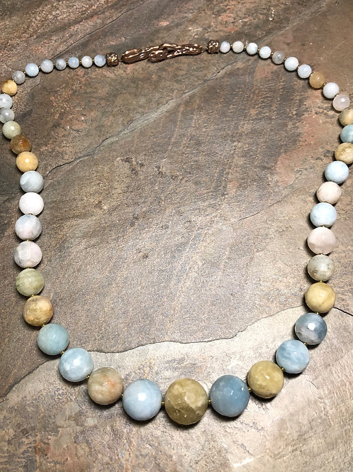 Brazilian Aquamarine Necklace