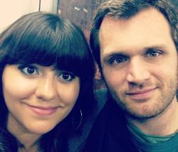 Mimi Singh and Spencer Seibert
