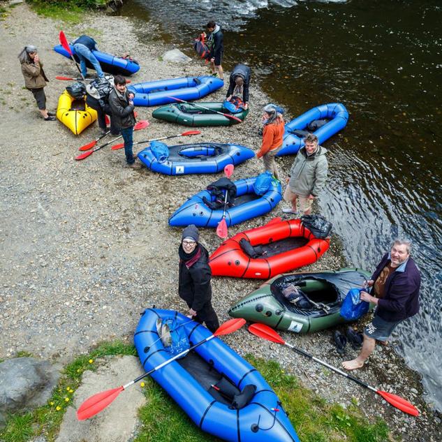 Rivieres packraft rando Ardennes