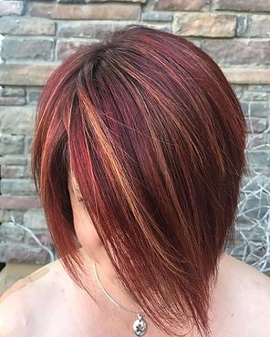 #wella for this gorgeous redhead #magma 🔥.jpg
