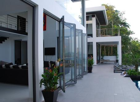รูปแบบประตู หน้าต่าง ที่นิยม ... บานเฟี้ยม