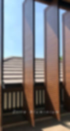 Aluminium Revolving door with adjustable