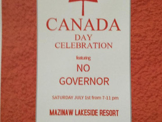 No Governor - Canada Day