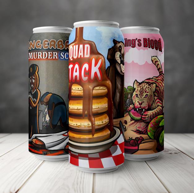 Beer Label Illustrations