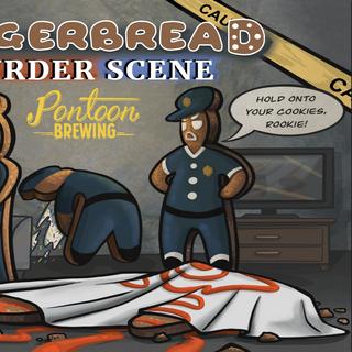 Gingerbread Murder Scene
