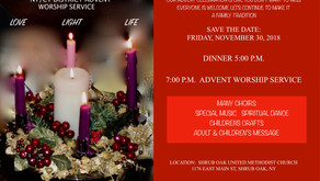 NY/CT District Advent Worship Service
