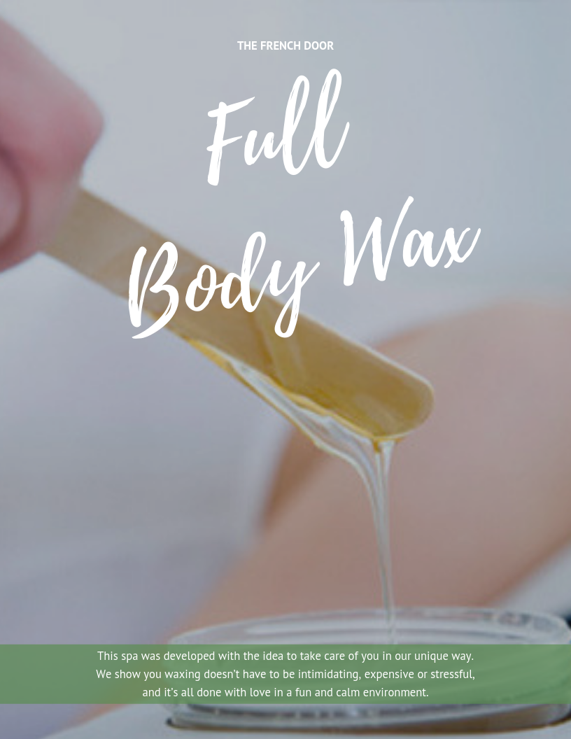 Full Body Wax