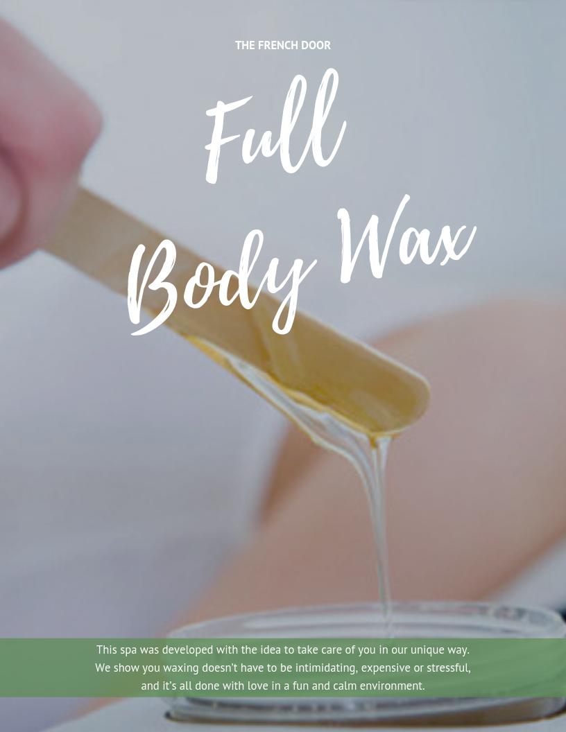 Full Body Wax