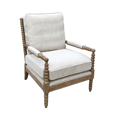 Spindle Chair Linen