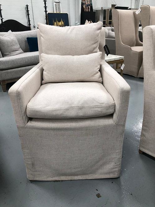 Shelton Slipcover Arm Chair