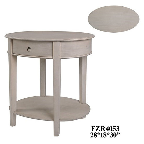 Annabell Oval Side Table