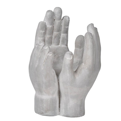 Cement Hand Decor