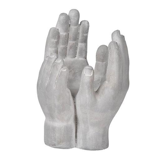 Cement Hand Decor