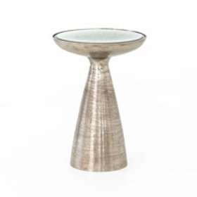 Silver Marlow Side Table