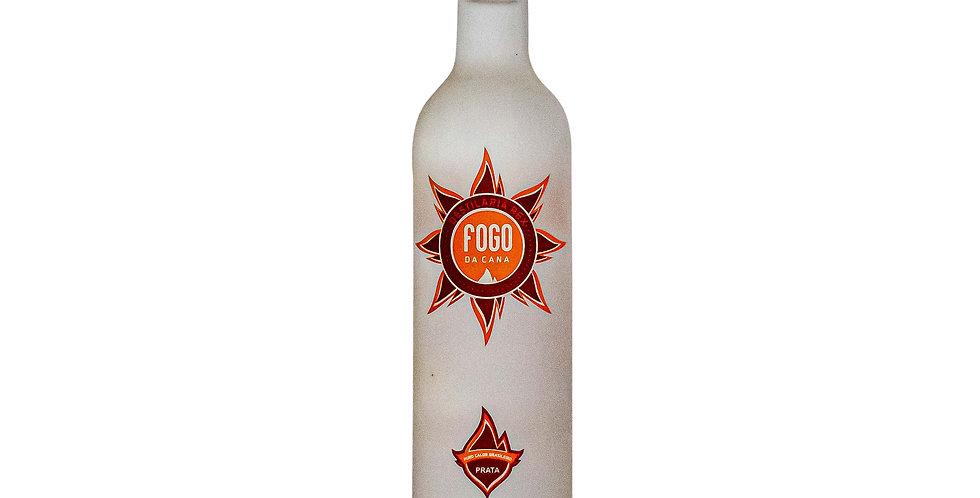 Cachaça Fogo da Cana Prata 500 ml
