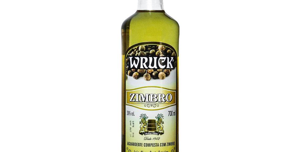 Cachaça Wruck Zimbro