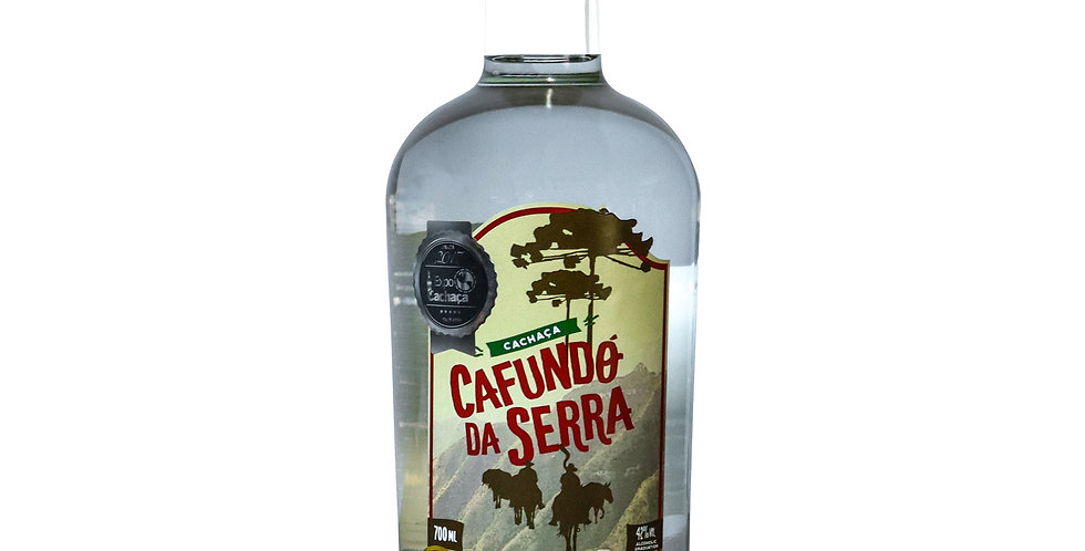 Cachaça Cafundó Da Serra Prata