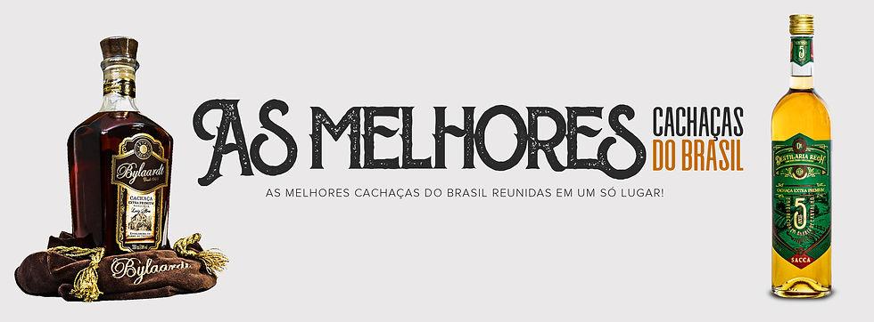 As Melhores  cachaças do Brasil reunidas em um só lugar