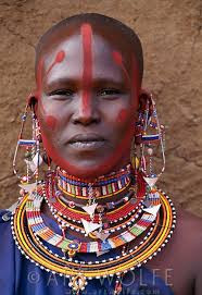 In some African cultures, short hair is a sign of beauty.