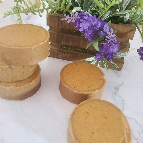 Pumpkin Spice Shampoo Bar