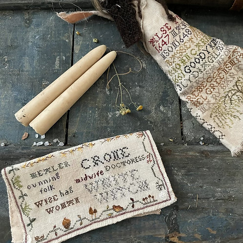 poppet, Salem, Sanderson Sisters, Sabbat, magical poppet, New England Magick, witchcraft, green magick, altar tools, wicca