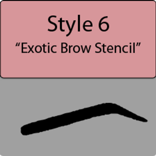 style 6 Exotic brow