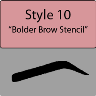 style 10 Bolder brow