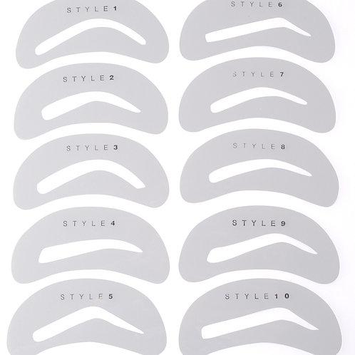 10 stencil options