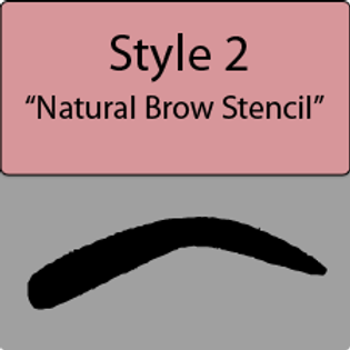 style 2 Natural brow