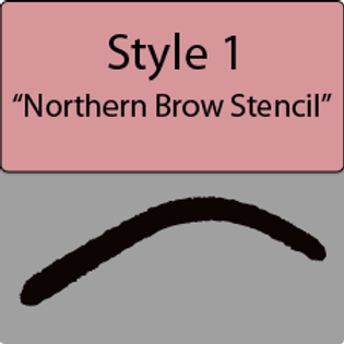 style 1 Northern brow