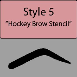 style 5 Hockey brow