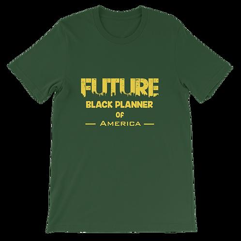 Future Black Planner of America Unisex T-Shirt