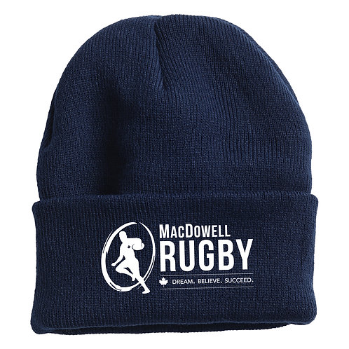 MacDowellRugby Toque
