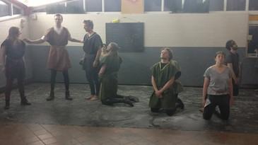 Final battle rehearsal