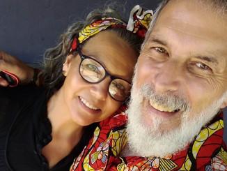 Silvia Jara y Alejandro Freire