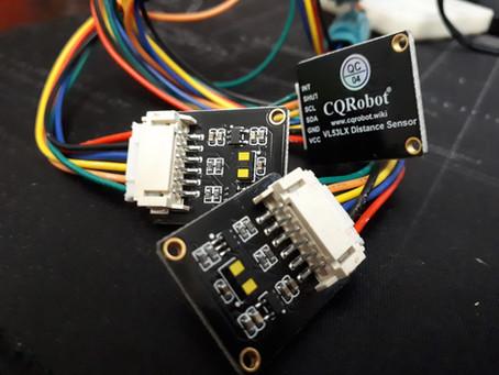 Conectando múltiples sensores i2c (Sensores láser VL53L1X)